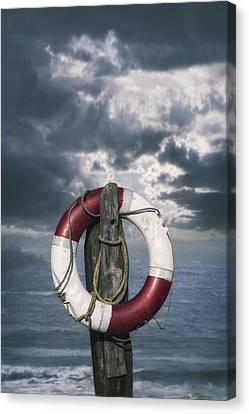 Lifebelt Canvas Print - Live-saver by Joana Kruse
