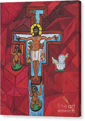 Living Christ Ascending Canvas Print