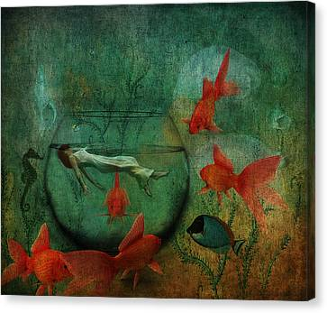 Living In A Fishbowl Canvas Print