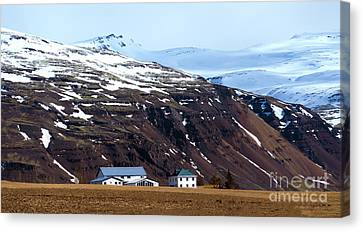 Living In Iceland Canvas Print by Svetlana Sewell