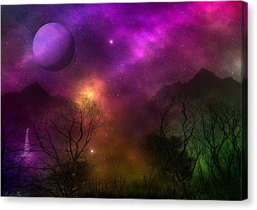 Canvas Print featuring the photograph Living In Oz by Bernd Hau