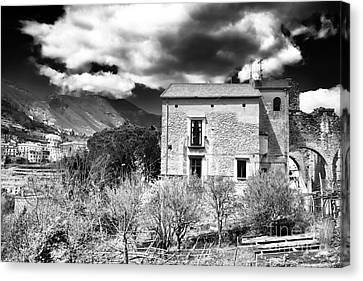 Living In Ravello Canvas Print by John Rizzuto