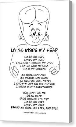 Living Inside My Head Canvas Print