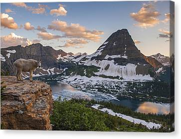 Living On The Edge Canvas Print by Joseph Rossbach