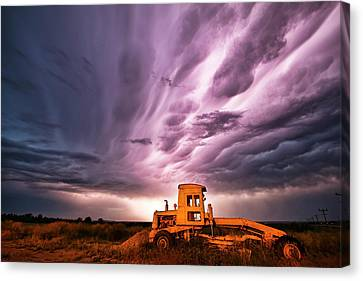 Living Sky In Nebraska Canvas Print