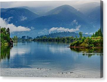 Living Waters Canvas Print by Annie Pflueger