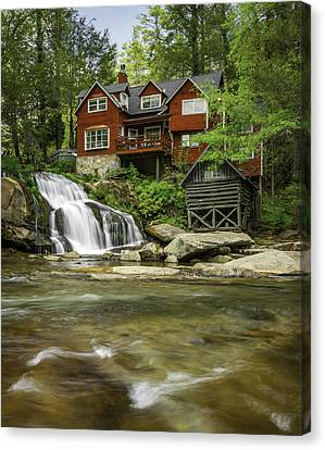 Living Waters Canvas Print by Johan Hakansson