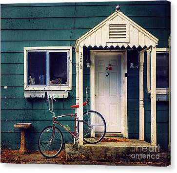 Livingston Bicycle Canvas Print by Craig J Satterlee