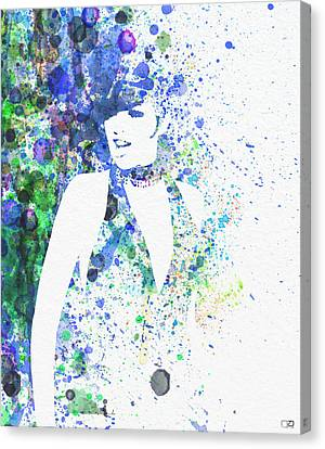 Liza Minnelli Cabaret Canvas Print by Naxart Studio