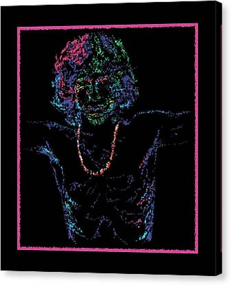 Jordan Canvas Print - Lizard King by Jordan Kotter
