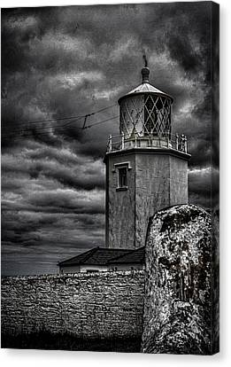 Lizard Lighthouse Cornwall Canvas Print by Martin Newman