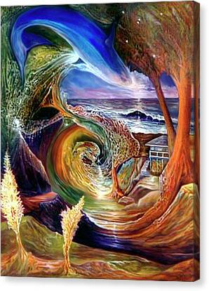 Lizdaze Canvas Print by Sevan Thometz