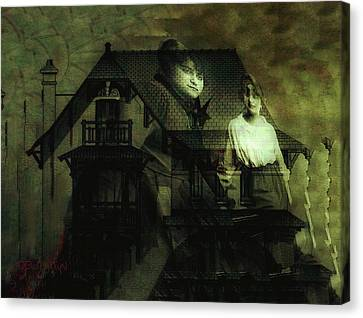 Lizzie And Her Sister Canvas Print