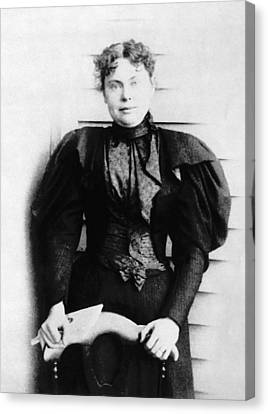 Lizzie Borden, Acquitted Suspect Canvas Print