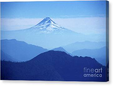 Llaima Volcano Chile Canvas Print by James Brunker