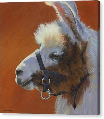Llama Canvas Print - Llama Love by Alecia Underhill