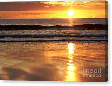 Llangennith Sundown Canvas Print