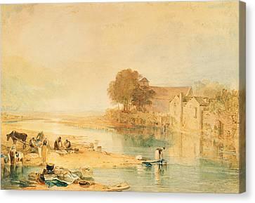 Llanrwst Canvas Print by Joseph Mallord William Turner