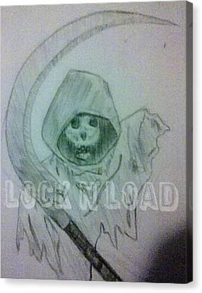 Lnl Reaper Specter Canvas Print