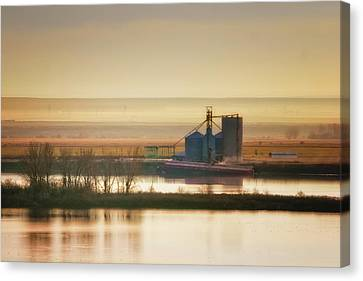 Loading Grain Canvas Print by Albert Seger