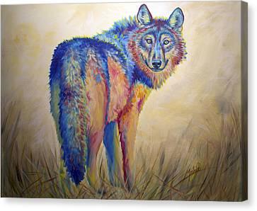 Lobo Legend Canvas Print by Teshia Art