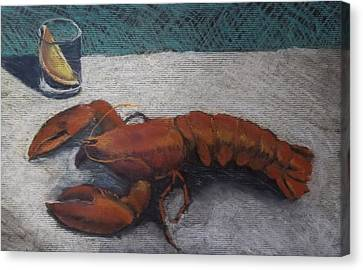 Lobster  Canvas Print by Becky Chappell
