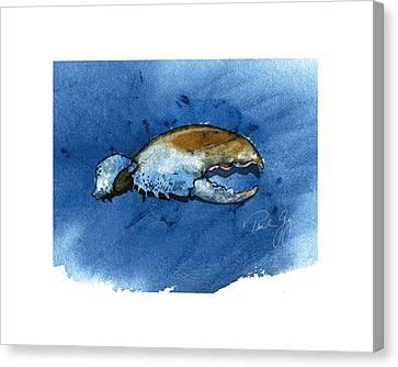 Lobster Claw Canvas Print by Paul Gaj