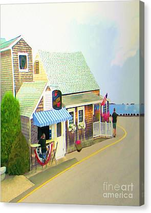 Lobster Shack Canvas Print by Richard Stevens