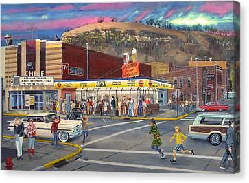 Local Beatlemania 1966 Canvas Print by Don Pirius