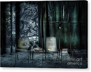 Local Theatre Canvas Print by Svetlana Sewell
