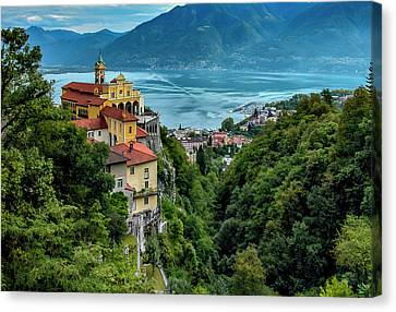 Locarno Overview Canvas Print by Alan Toepfer