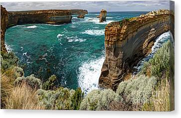 Loch Ard Gorge Canvas Print by Rick Mann