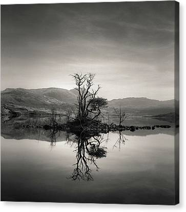Loch Assynt Reflection Canvas Print