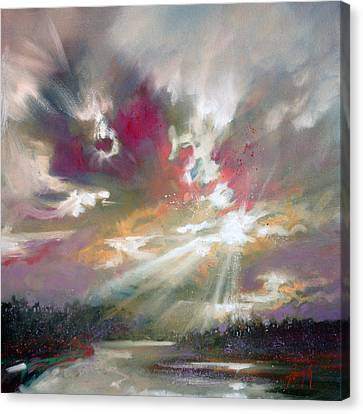 Loch Light Canvas Print by Scott Naismith