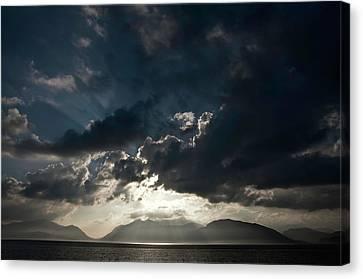 Loch Linnhe Sunset Canvas Print by Mark Denham