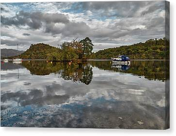 Loch Lomond At Aldochlay Canvas Print