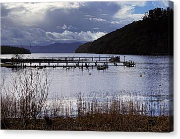 Canvas Print featuring the photograph Loch Lomond by Jeremy Lavender Photography