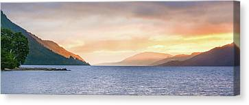Loch Ness At Dawn Canvas Print