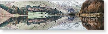 Loch Of The Lowes Panoramic Canvas Print
