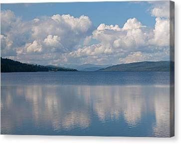 Loch Rannoch Clouds Canvas Print by Chris Thaxter
