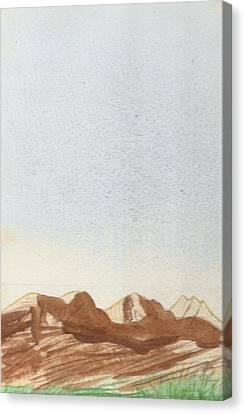 Loch Torridon Canvas Print by Jim Green