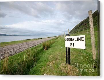 Lochaline This Way Canvas Print by Nichola Denny