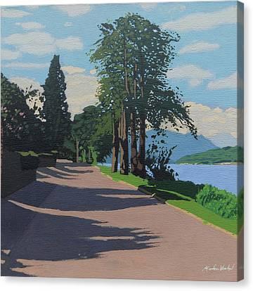Lochside Road Canvas Print