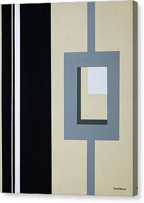 Lock Canvas Print by Slade Roberts