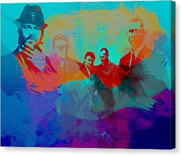 Lock Stock And Two Smoking Barrels Canvas Print by Naxart Studio