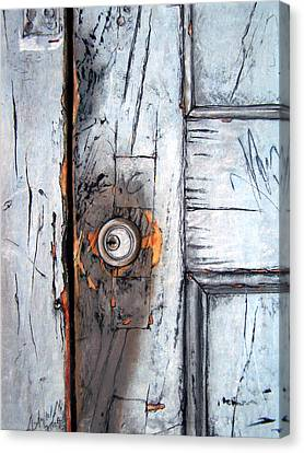 Locked Canvas Print