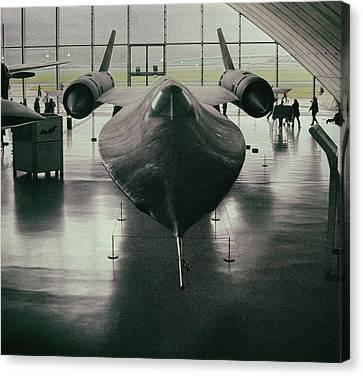 Lockheed Aircraft Canvas Print - Lockheed Blackbird by Martin Newman
