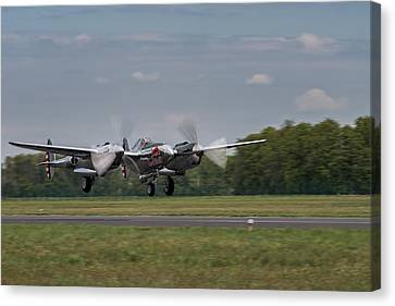 Lockheed P-38 Lightning Canvas Print