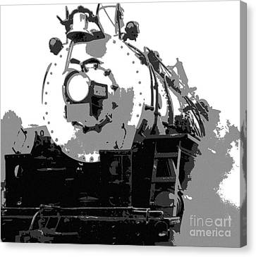 Locomotion Canvas Print by Richard Rizzo