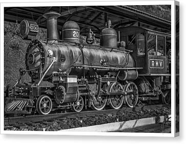 Locomotiva-conservatoria-rj Canvas Print